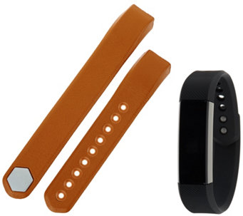 Fitbit Alta Wireless Activity Tracker with Leather Band - E230325