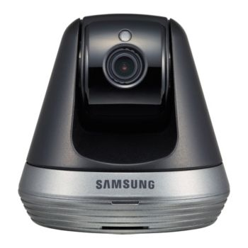 Samsung SmartCam Wi-Fi Pan/Tilt Camera HD Night Vision w/ 16GB MicroSD
