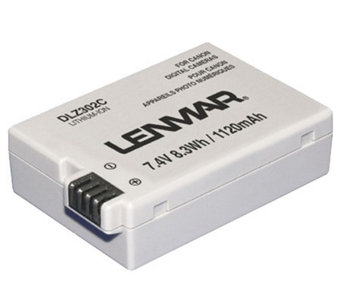 Lenmar DLZ302C Camera Battery - Canon Cameras - E260325