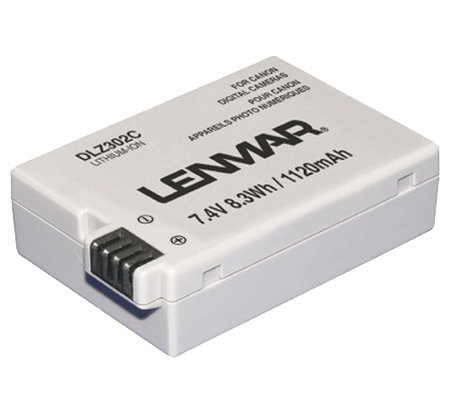Lenmar DLZ302C Camera Battery - Canon Cameras