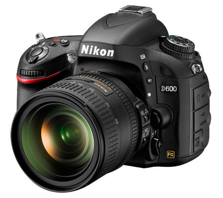 Nikon D600 SLR with 24-85mm VR Lens DSRL Bundle