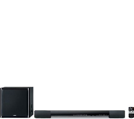 Yamaha Surround Sound Bar with Wireless Subwoofer