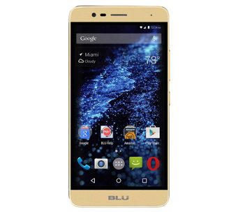 BLU Studio One Plus 16GB 4G LTE Unlocked Smartphone - E288825