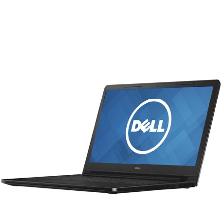 "Dell 15.6"" Laptop - 4GB RAM, 500GB HDD, 1-Yr Microsoft Office"