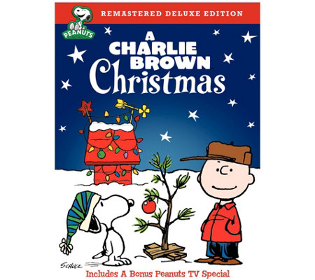 A Charlie Brown Christmas Deluxe Edition DVD