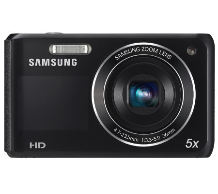 Samsung DV50 DualView 16MP 5x Zoom Digital Camera