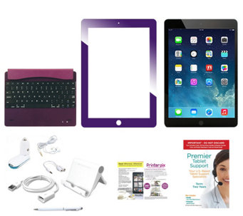 Apple iPad Air 4G + WiFi 32GB with Bluetooth Keyboard, and Accessories - E229426