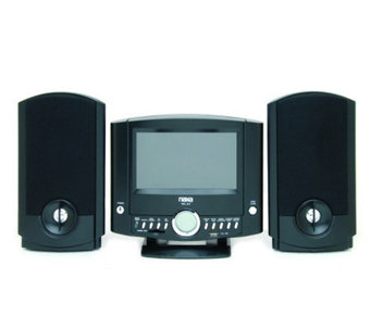 Naxa NDL-431 DVD Micro System w/Digital AM/FM Radio & USB/SD - E251126