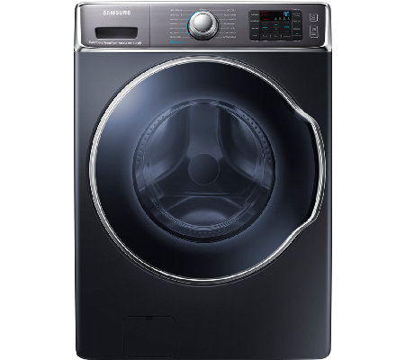Samsung 5.6 Cubic Ft. Front-Load Washer with PowerFoam - Onyx