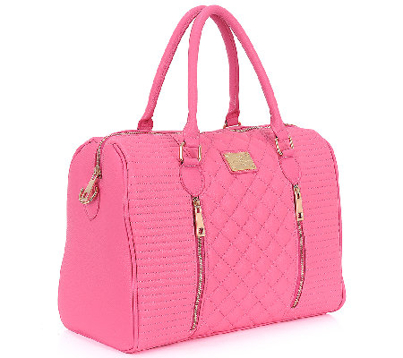 "Sandy Lisa Siena 14"" Quilted Laptop & Tablet Tote"
