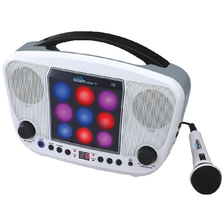 Karaoke Night CD Sing-A-Long with LED Light Show