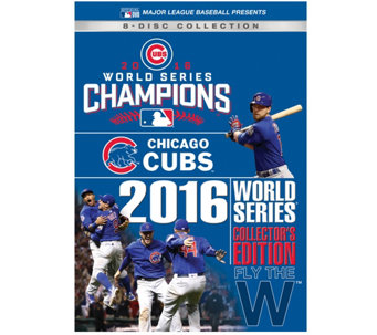 Chicago Cubs 2016 World Series DVD CollectorsSet - E290226