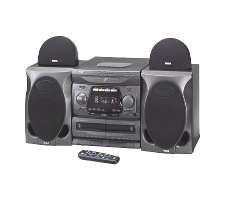 shelf cd and fm rca am audio with products radio player bluetooth bookshelf d system