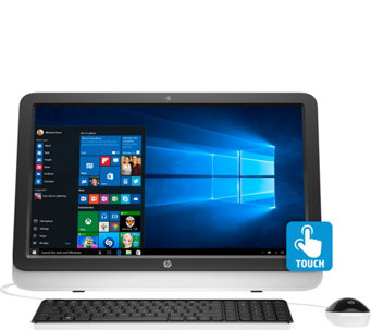 "HP All-in-One 22"" Windows 10 8GB RAM 1TB HDD LifetimeSupport & MS Office 365 - E229227"