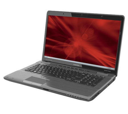 "Toshiba 17.3"" Notebook-6GB RAM, 750GB HD with Blu-Ray"