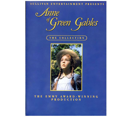 Anne of Green Gables Trilogy Three-Disc DVD Set