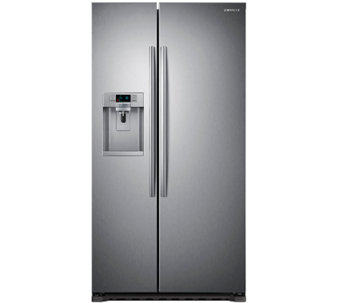 Samsung 22 Cu. Ft. Counter-Depth Side-by-Side Refrigerator - E279627