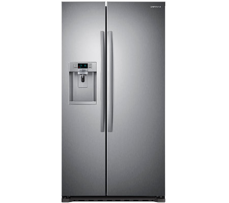 Samsung 22 Cu. Ft. Counter-Depth Side-by-Side Refrigerator