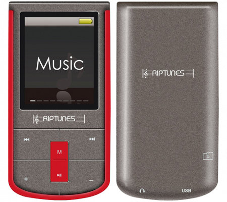 "Riptunes 8GB MP3 Player with 1.8"" LCD Screen"