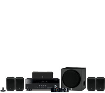 Yamaha 5.1 Channel Bluetooth Home Theater System - E285527