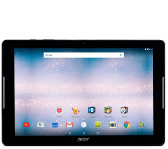 "Acer Iconia One 10"" Tablet with Android Marshmallow - E290127"