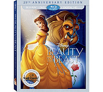 Beauty and the Beast 25th Anniversary Edition Blu-ray/DVD - E290727