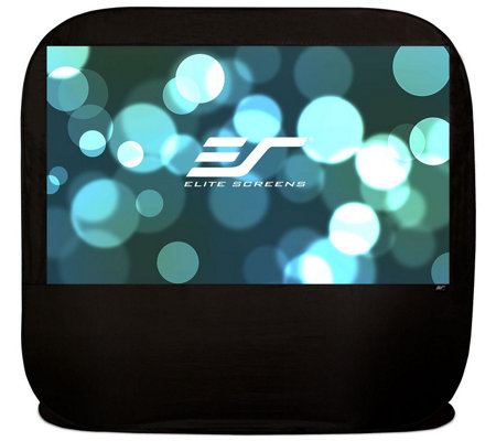 "Elite Screens 92"" Pop Up Cinema Series OutdoorScreen"