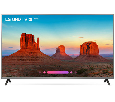 "LG 55"" 4K ThinQ AI LED Ultra HDTV with Nano Cell Display & HD"
