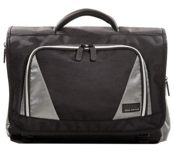 Eco Style Sports Voyage Messenger Laptop Case - E275528