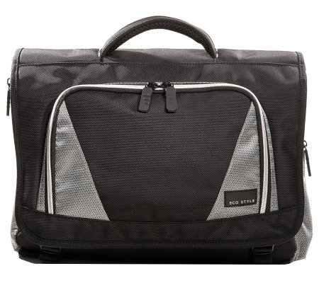 Eco Style Sports Voyage Messenger Laptop Case