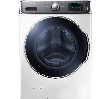 Samsung 5.6 Cubic Ft. Front-Load Washer with PowerFoam - Whit