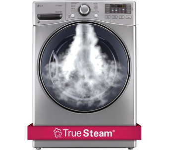 LG 7.4 Cu. Ft. TrueSteam Front Load Electric Dryer - E283228