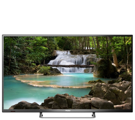 "Haier 48"" Class LED HDTV with Roku Stick"