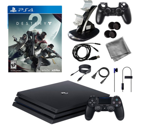 Sony PS4 Pro 1TB Bundle with Destiny 2 & Accessories