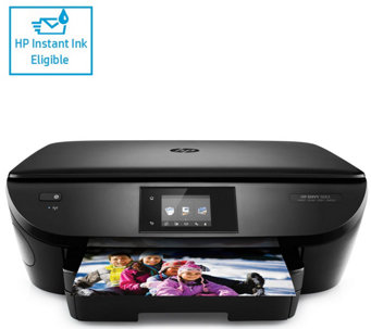 HP Envy 5663 Printer, Copier Scanner w/Touch Display,Instant Ink & Software - E230129