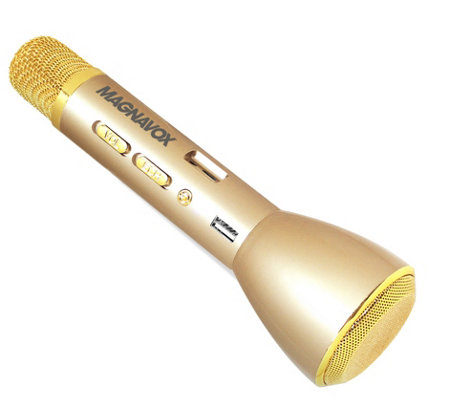 Magnavox Wireless Karaoke Microphone w/ Speaker