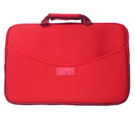 "SlipIt! Plus Case for 15"" Notebook - Red"