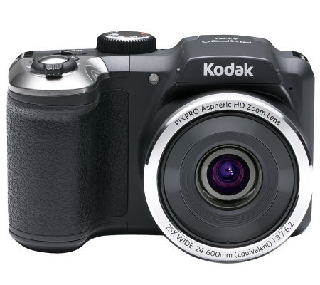 Kodak 16MP 25X Opt. Zoom Digital Camera with 24mm Wide Angle