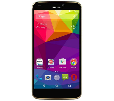 BLU Studio G Plus 8GB HSPA+ Unlocked Smartphone
