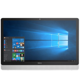 "Dell 23.8"" AIO Touch Desktop - A6, 4GB, 1TB & 1-Year MS Offic - E289429"