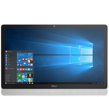 "Dell 23.8"" AIO Touch Desktop - A6, 4GB, 1TB & 1-Year MS Office"