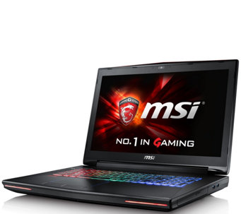 MSI GT72VR Gaming Laptop - Core i7, 16GB, 128GBSSD, GTX 1070 - E289829