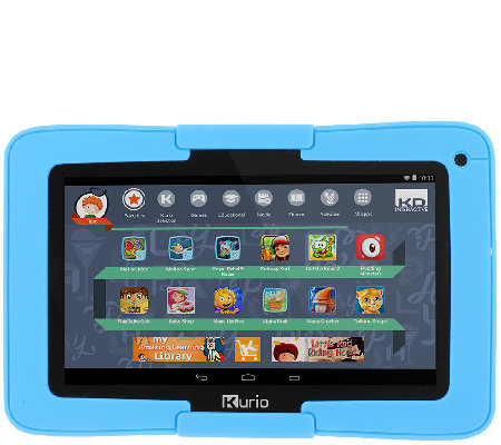 "Kurio Motion 7"" 8GB Quad Core WiFi Tablet w/ Parent Controls & Google Play"