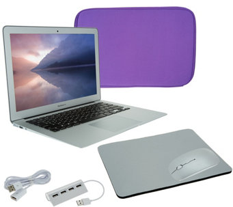 "Apple Macbook Air 13"" Bundle w/ Accessories Neoprene Sleeve & WirelessMouse - E231130"