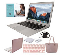 "MacBook Air 13"" 128GB Laptop w/ Clip Case, Tote Bag & Accessories - E231530"