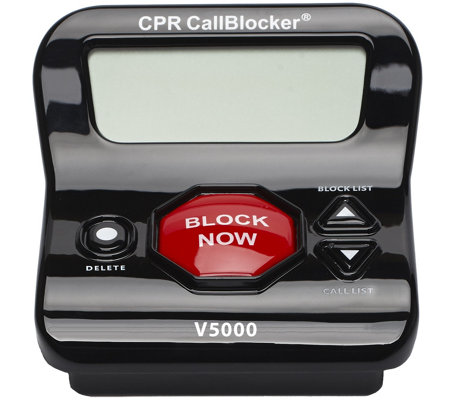 CPR Call Blocker w/ 6500 Number Blocking and 3-Year Warranty
