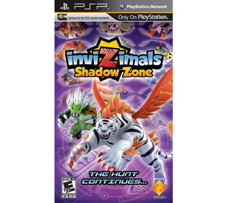 Invizimals: Shadow Zone with Camera - PSP