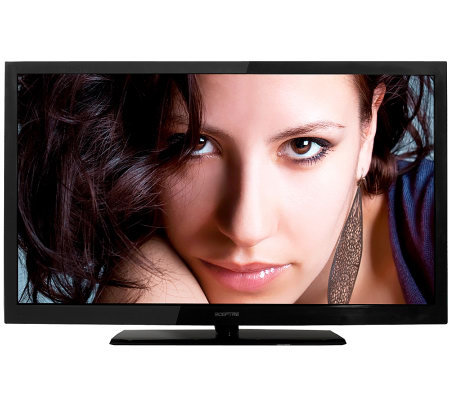 "Sceptre 50"" Class LCD 1080p HDTV with 3 HDMI"