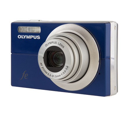Olympus 12MP 5x Zoom Camera with SmileShot, FaceDetection& ImageStabilizer