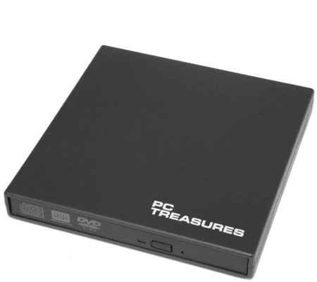 PC Treasures Portable USB DVD  /- RW Optical Drive & Video Software